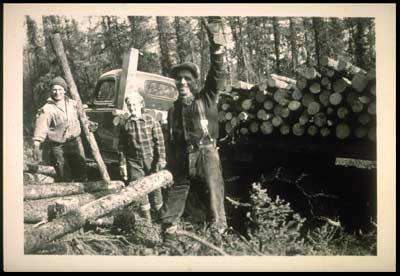 Emil Usibelli logging operation