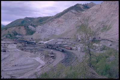 Usibelli Coal Mine closed underground mining operations at Suntrana, but Tipple complex continued to be used