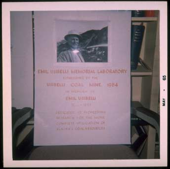 UCM established the Emil Usibelli Memorial Libratory at University of Alaska Fairbanks